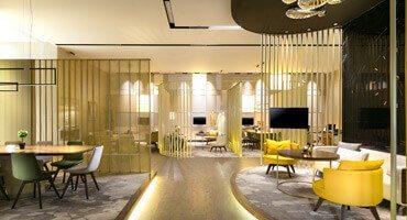 Gönye Tasarım'dan Modernliği Samimiyetle Buluşturan Satış Ofisi Park Mavera