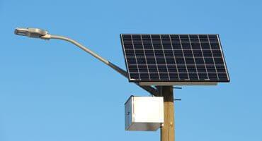 Güneş Enerjili LED Aydınlatma