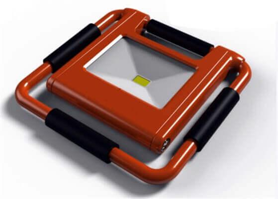 Katlanabilir, Taşınabilir Şarjlı Projektör
