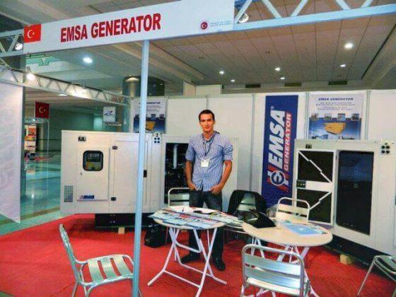 emsa generator- Sektörüm Dergisi-türkmenistan fuarı-2012