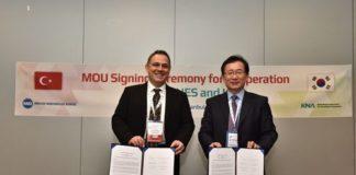Türkiye İle Güney Kore Arasında Nükleer İş Birliği Anlaşması İmzalandı.