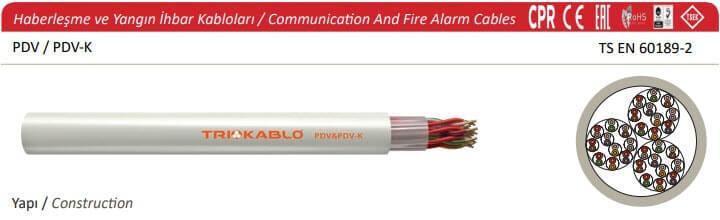 Haberleşme ve Yangın İhbar Kabloları
