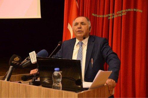 Mutlusan Yön. Krl. Bşk Mustafa Kaçmaz Erzincan Üniversitesinde..