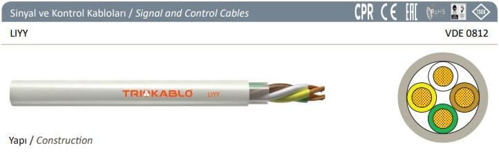 sinyal ve kontrol kablosu