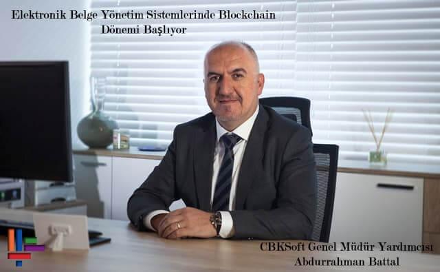 CBKSoft Genel Müdür Yardımcısı Abdurrahman Battal