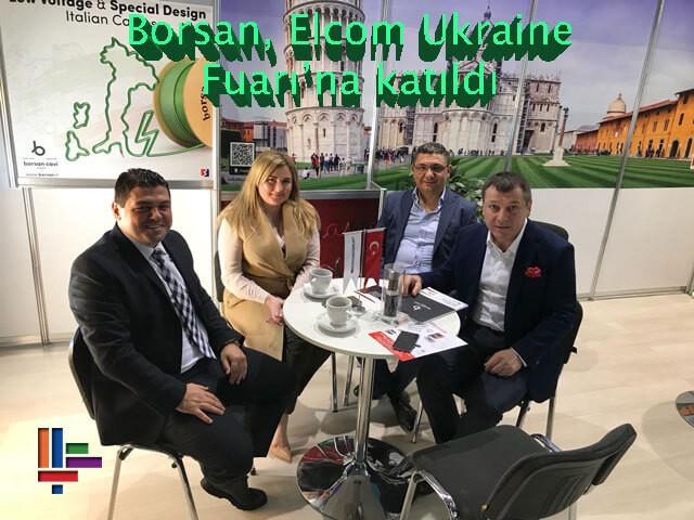 Borsan, Elcom Ukraine Fuarı'na katıldı
