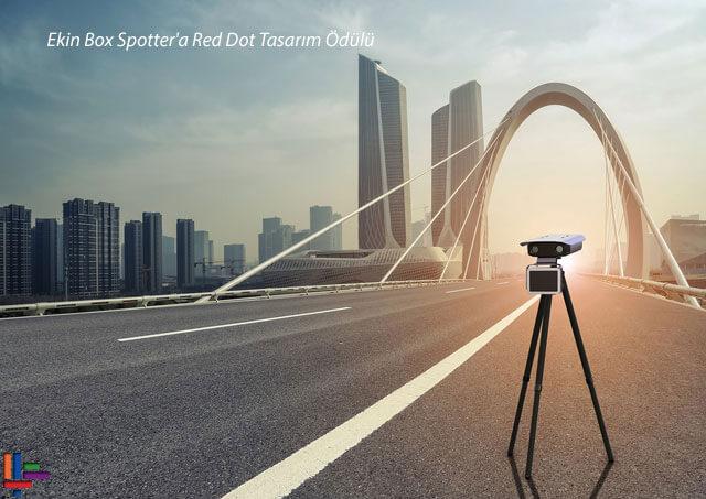 Ekin Box Spotter'a Red Dot tasarım ödülü