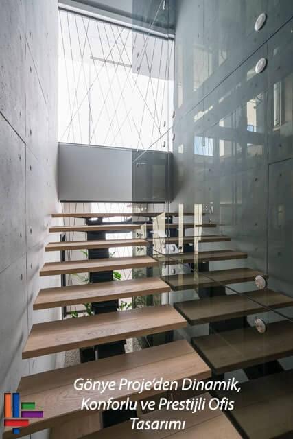 Gönye Proje'den Dinamik, Konforlu ve Prestijli Ofis Tasarımı: