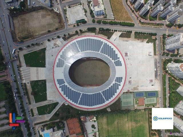 Antalya Stadı Güneş Enerji Sistemi