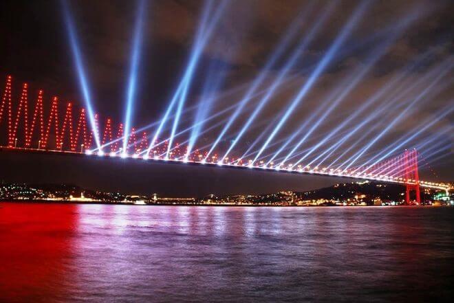 şehir aydınlatma görseli