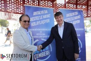 turan erdoğan akıllı şehir antalya projesi