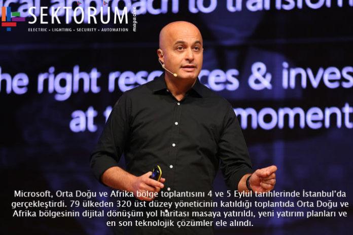 Microsoft, Orta Doğu ve Afrika bölge toplantısı