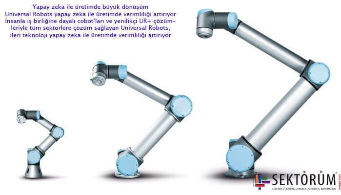 Universal Robots yapay zeka i