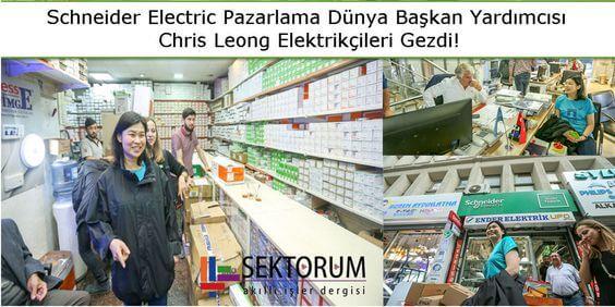 Başkan Yardımcısı Chris Leong Elektrikçileri Gezdi
