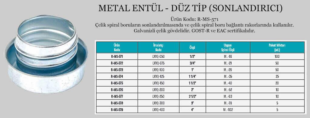 metal-entul-duz-tip-sonlandirici