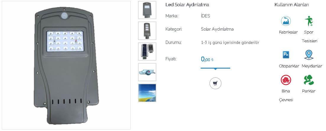 led-solar-aydinlatma-projektor