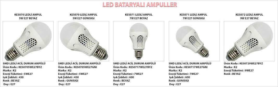 bataryali-led-lambalar
