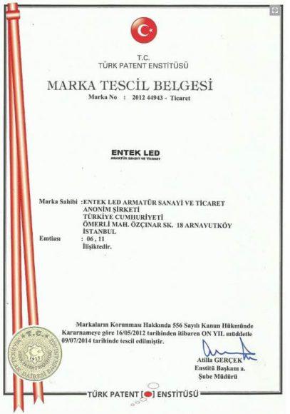 entek-led-marka-tescil-belgesi