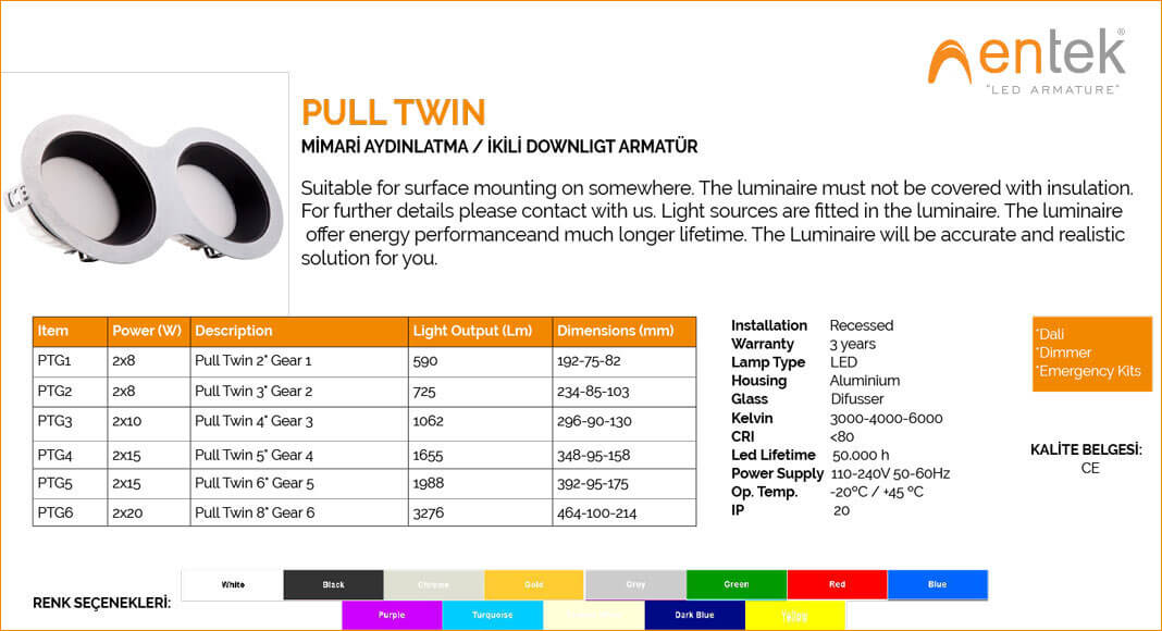 ikili-downlight-led-armatur-pull-twin-ozellikleri-ve-urun-gorseli