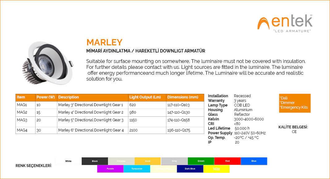 marley-hareketli-led-downlight-armatur