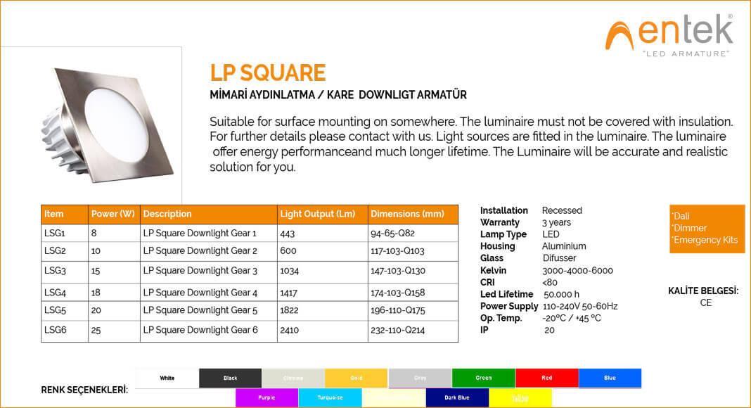 mimari-aydinlatma-led-kare-downlight-armatur-lp-square-ozellikler-ve-urun-gorseli