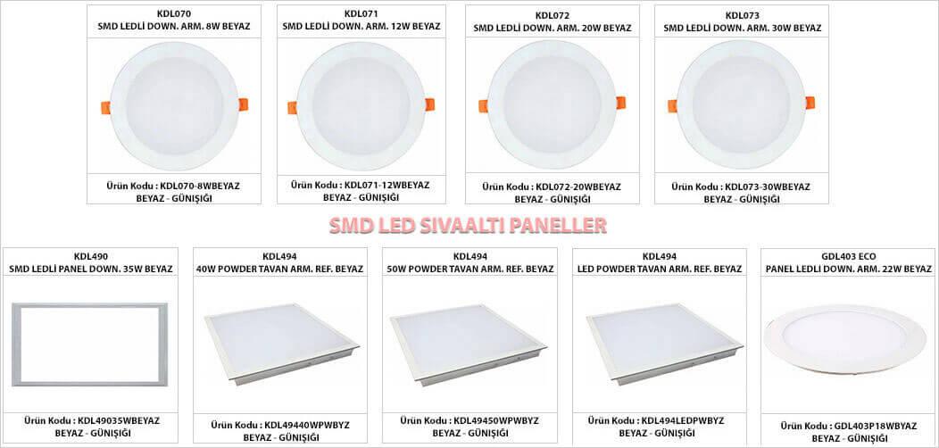 smd-led-sivaalti-led-armatur-downlight-modelleri-gorselleri