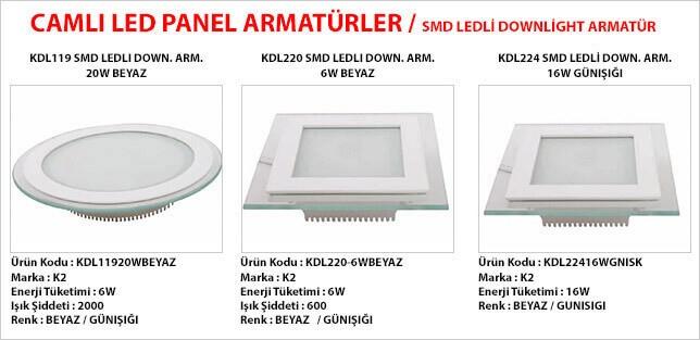 smd-ledli-downlight-armatur-modelleri