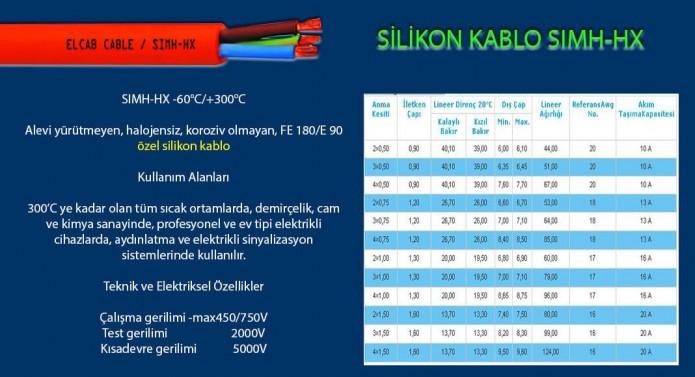 silikon-kablo-simh-hx