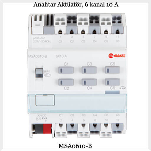 anahtar-aktuator-6-kanal-10-a