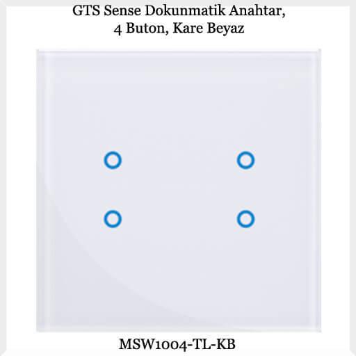 gts-sense-dokunmatik-anahtar-4-buton-kare-beyaz