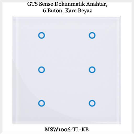 gts-sense-dokunmatik-anahtar-6-buton-kare-beyaz