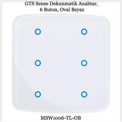 gts-sense-dokunmatik-anahtar-6-buton-oval-beyaz
