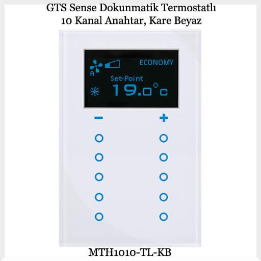 gts-sense-dokunmatik-termostatli-10-kanal-anahtar-kare-beyaz