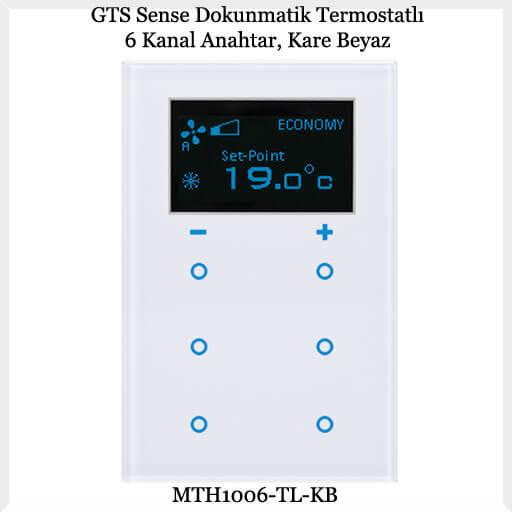 gts-sense-dokunmatik-termostatli-6-kanal-anahtar-kare-beyaz