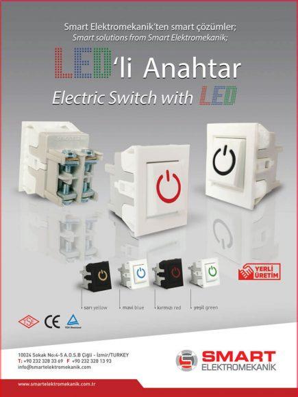 Ledli Anahtar Switch