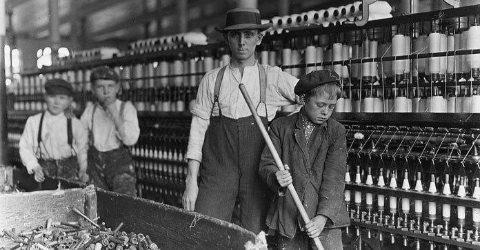 Sanayide Çalıştırılan Çocuk İşçi