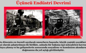 Üçüncü Endüstri Devrimi Nedir