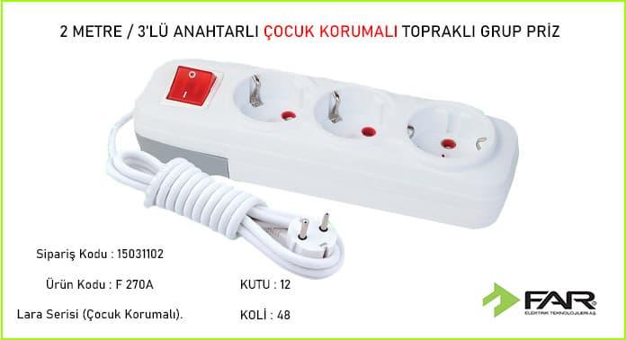 2-Metre-3lu-Anahtarli-Cocuk-Korumali-Toprakli-Grup-Priz