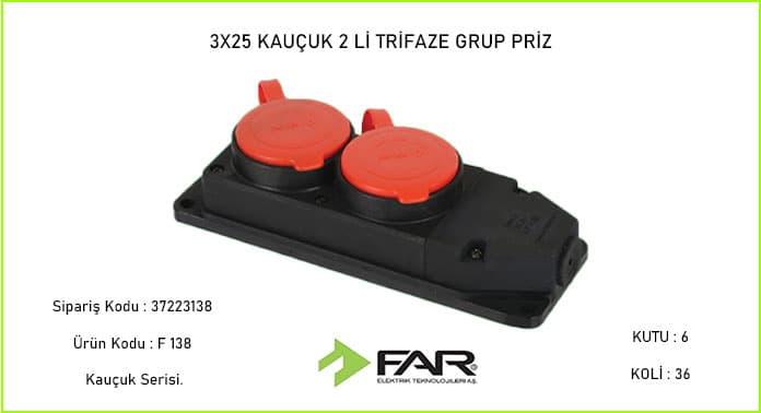 3-25-Kaucuk-2li-Trifaze-Grup-Priz