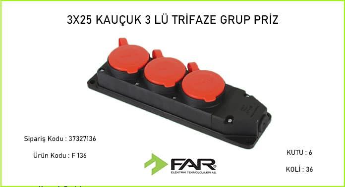 3-25-Kaucuk-3lu-Trifaze-Grup-Priz