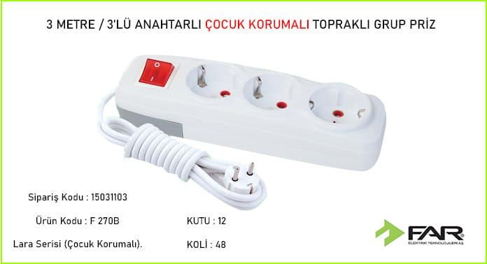3-Metre-3lu-Anahtarli-Cocuk-Korumali-Toprakli-Grup-Priz