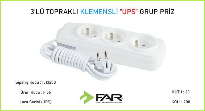 3lu-Upsli-Klemensli-Toprakli-Grup-Priz