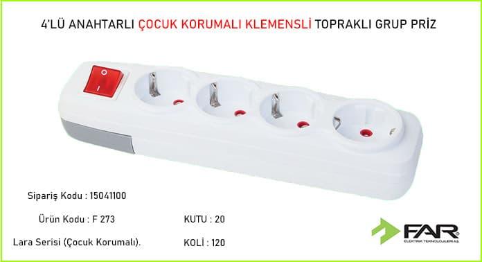 4lu-Anahtarli-Cocuk-Korumali-Klemensli-Toprakli-Grup-Priz