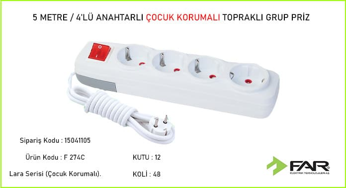 5-Metre-4lu-Anahtarli-Cocuk-Korumali-Toprakli-Grup-Priz