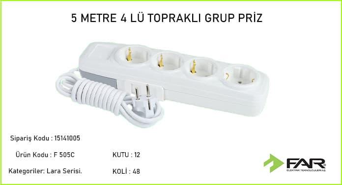 5-Metre-4lu-Toprakli-Grup-Priz