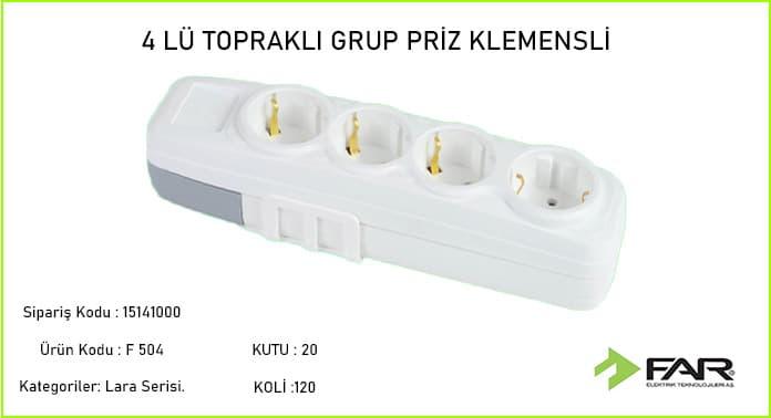 Dortlu-Toprakli-Klemensli-Grup-Priz