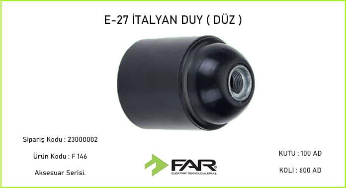 e27-duz-Italyan-Duy