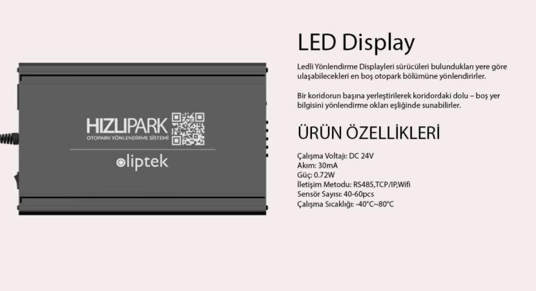 Akilli-Otopark-Hizli-Park-Led-Display