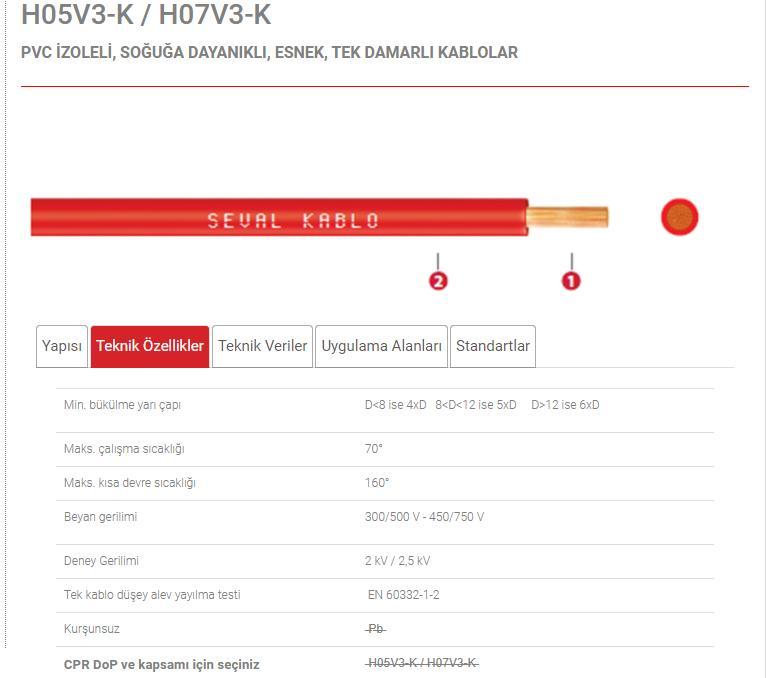 Pvc-Izoleli-Soguga-Dayanikli-Esnek-Tek-Damarli-Kablolar-H05v3-k-H07v3-k