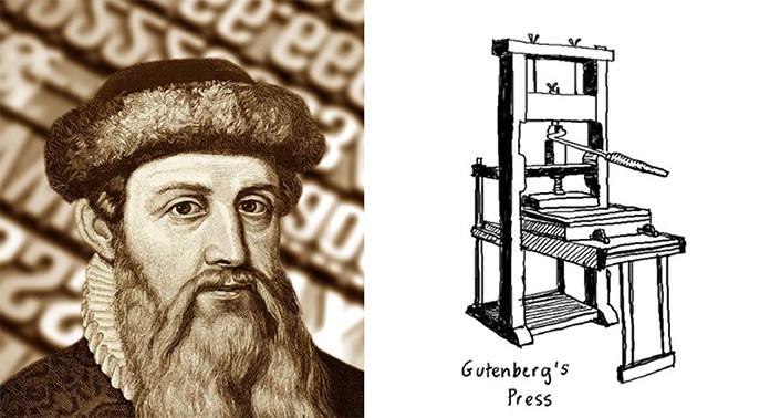 Matbaanin-Mucidi-Gutenberg